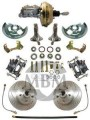 1962-67 Chevy Nova Complete Stock Height Disc Brake Kit w/ Master Cylinder - High Performance