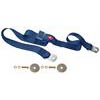 All Mustang Seat Belt with Push Button Navy Blue 60 inch