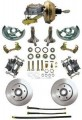 1962-67 Chevy Nova Disc Brake Kit w/ Master Cylinder